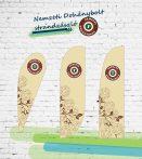 Nemzeti Dohánybolt strandzászló / beachflag 1.