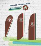 Nemzeti Dohánybolt strandzászló / beachflag 2.