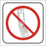 Mobiltelefon használata Tilos!