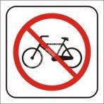 Kerékpárral bejönni Tilos!