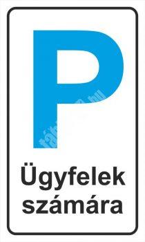Parkoló ügyfelek számára