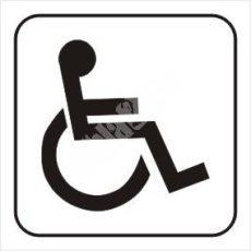 Mozgássérült WC piktogram