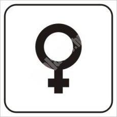 Női piktogram
