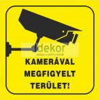 Kamerával megfigyelt terület! 2