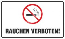 Tilos a dohányzás! német (Rauchen verboten!)