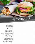 Nyitvatartás 27 - burgeres