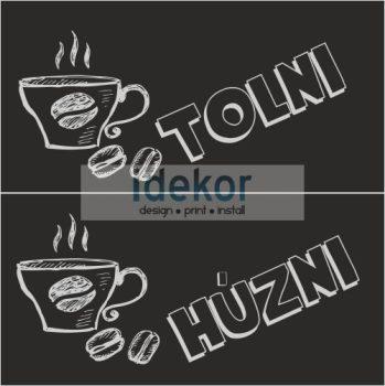 Tolni húzni kávézó