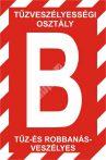 """""""B"""" tűzveszélyességi osztály"""