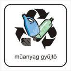 Szelektív műanyag gyűjtő