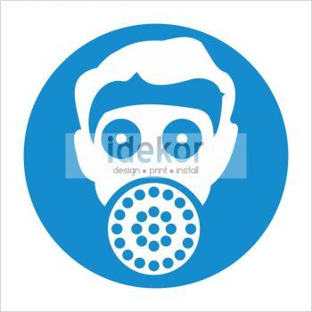Légzésvédő viselése kötelező!