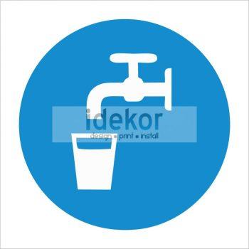 Ivóvíz felirat/tábla