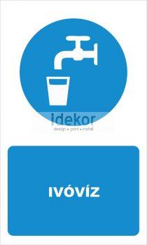 Ivóvíz felirat
