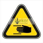 Kézsérülés veszélye 2