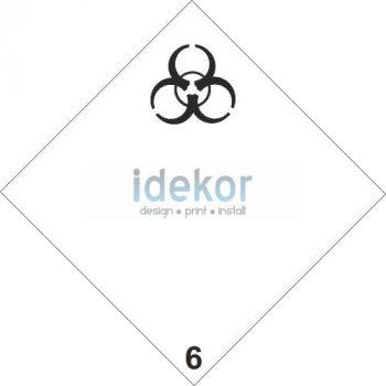 Fertőző anyagok 6.2 alosztály