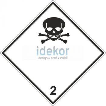 Mérgező gázok 2.3 alosztály