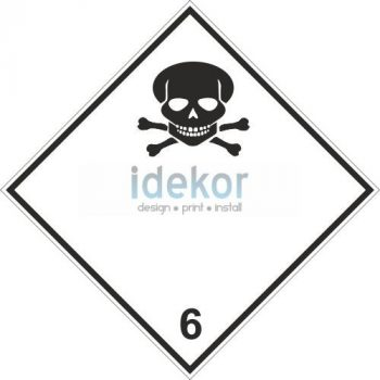 Mérgező (toxikus) anyagok 6.1 alosztály