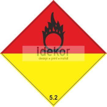 Szerves peroxidok 5.2 alosztály
