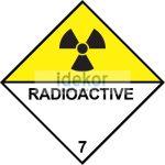 Radioaktív anyagok 7D nagybárca