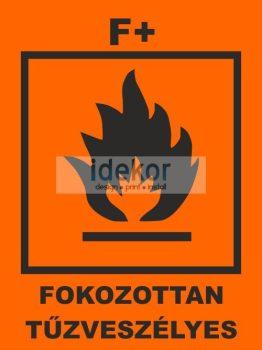 Fokozottan tűzveszélyes F+