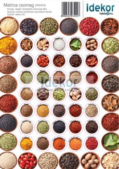 Fűszeres matrica csomag