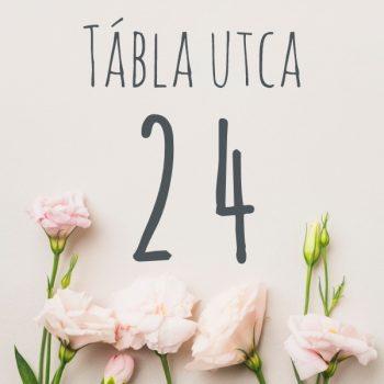 Egyedi házszámtábla - 29