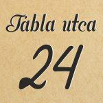 Egyedi házszámtábla - 32