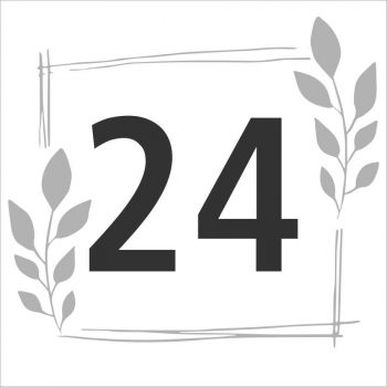 Egyedi házszámtábla - 35