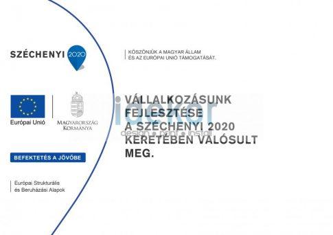 Széchenyi 2020 Emlékeztető tábla A4-A1-es méretekig