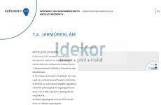 Széchenyi terv 2020 járműfóliázás