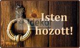 Köszöntő felirat ajtóra 1