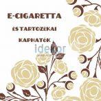 Kreatív Nemzeti Dohány kirakat matrica 14 (e-cigaretta)