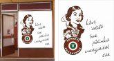 Kreatív Nemzeti Dohány kirakat matrica 9