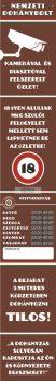 Nemzeti Dohánybolt fólia/reklámtábla (30 x 200 cm)