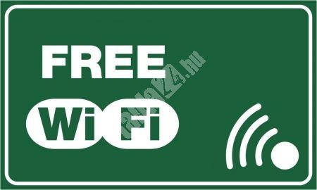 Választható színű Free WiFi