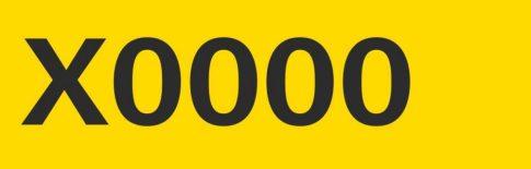 Minősített budapesti taxi engedélyszáma matrica - 4 cm magas (vágott fekete fólia)